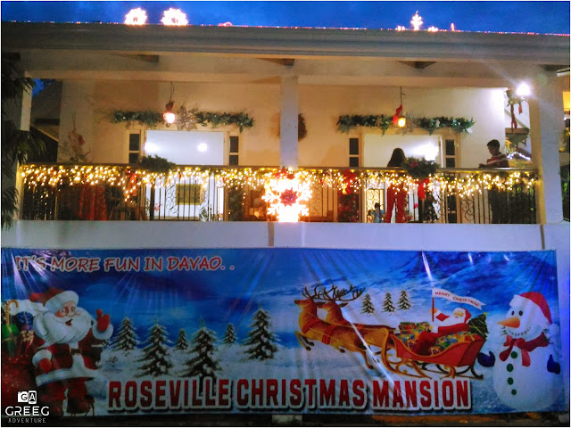 Roseville Christmas Mansion