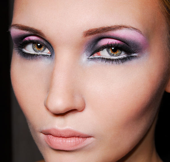 green eyes makeup - photo #34