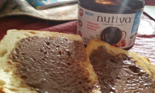 Nutiva Organic Hazelnut Spread  on toast