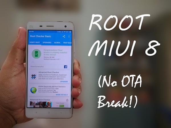 Cara Rooting Xiaomi MIUI 8 Tanpa Perangkat Komputer