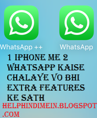 install 2 whatsapp on iphone 6