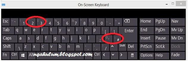 Cara memperbaiki tombol keyboard berubah fungsi di windows 8