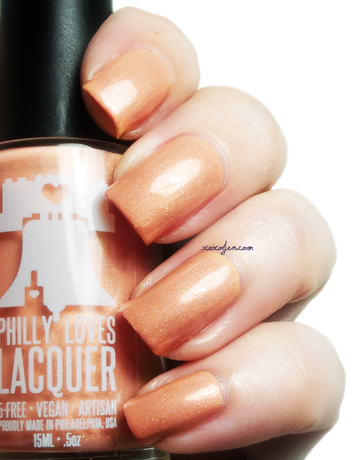 xoxoJen's swatch of Philly Loves Lacquer June Bug