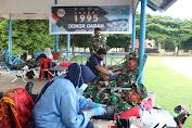 TNI Korem 011 Lilawangsa Turut Partisipasi Donor Darah