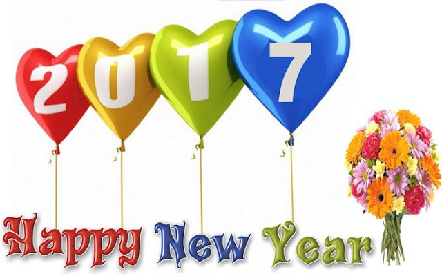 Happy New Year 2017 HD Wallpaper 17
