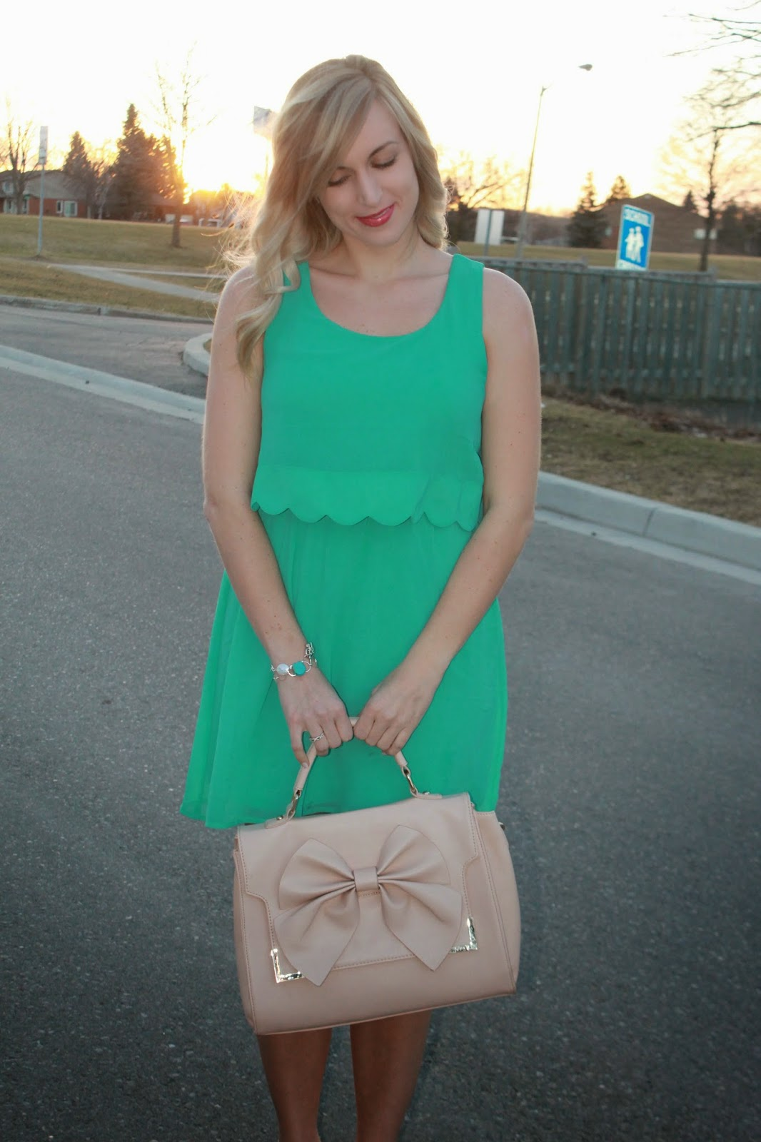 what-to-wear-with-a-mint-dress