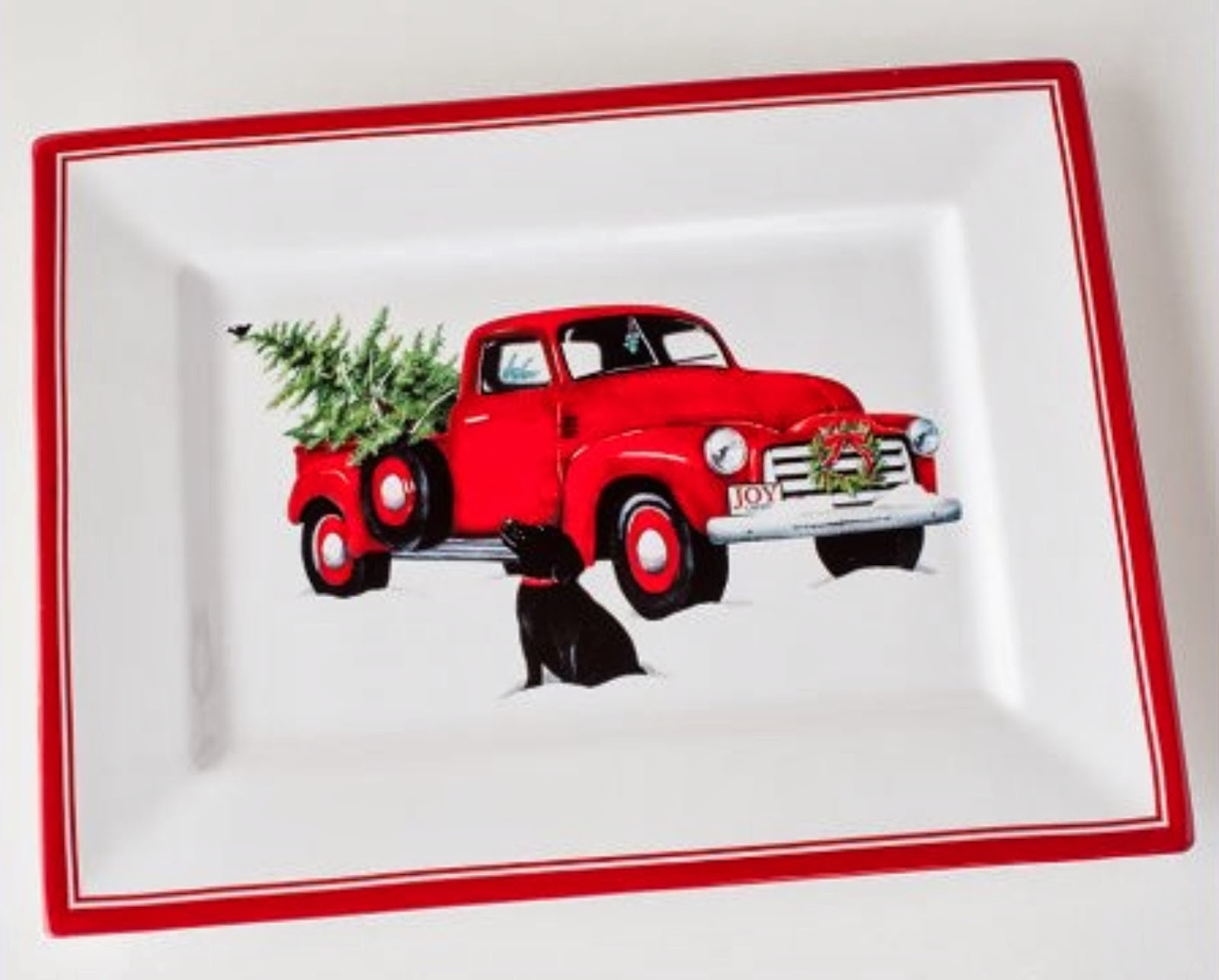 J. Thaddeus Ozark's Cookie Jars and Other Larks: Red Truck ...