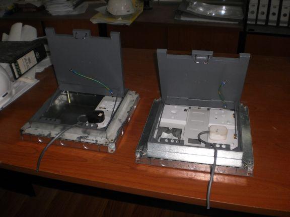 Electrical Installations 13a Sockets Inside Underfloor Box