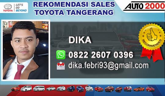 Rekomendasi Toyota Ciputat Tangerang Selatan