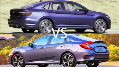 Civic Vs Jetta; Honda Volkswagen Compact Sedan War