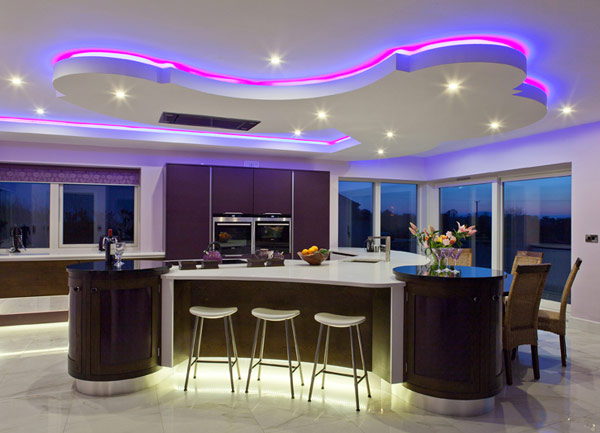kitchen mood lighting hogares frescos dise 241 o de cocina vanguardista 2320