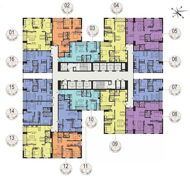 Thiết kế căn hộ tháp 29 T chung cư Imperia Garden