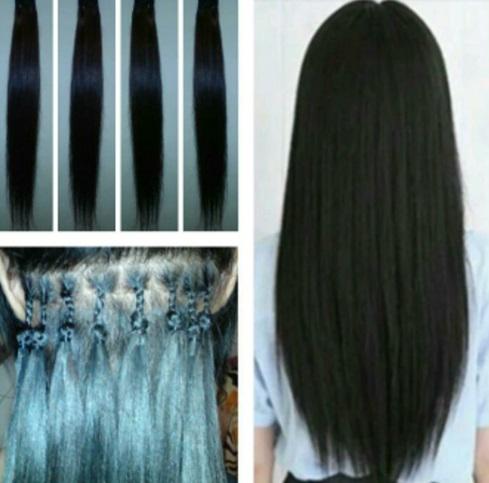 cara menyambung rambut