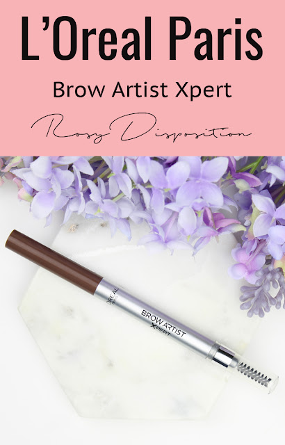 L'Oreal Brow Artist Xpert Mechanical Pencil review swatch