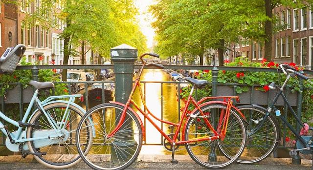 Aluguel de bicicleta em Amsterdã