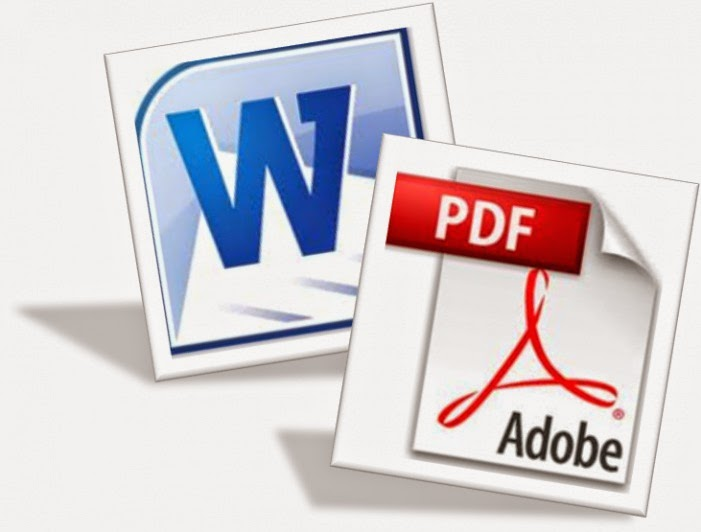 save or convert word to pdf