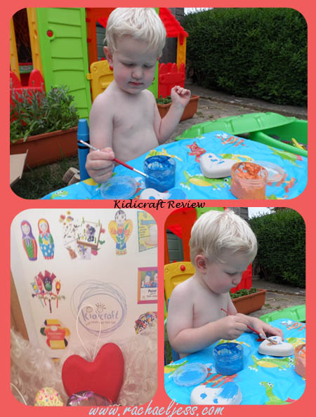 How to keep children amused - Kidicraft Angel Malma Review