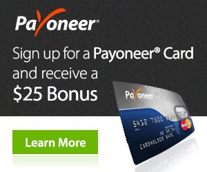 Signup for Payoneer Mastercard