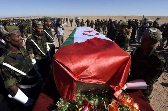 بيان تأبيني في وفاة الأمين العام لجبهة البوليساريو موقع من عشرات المنظمات الحقوقية بالارض المحتلة وجنوب المغرب