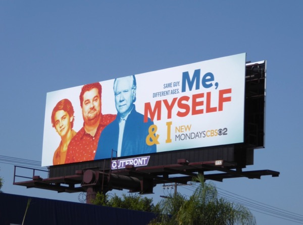 Me Myself I TV series billboard