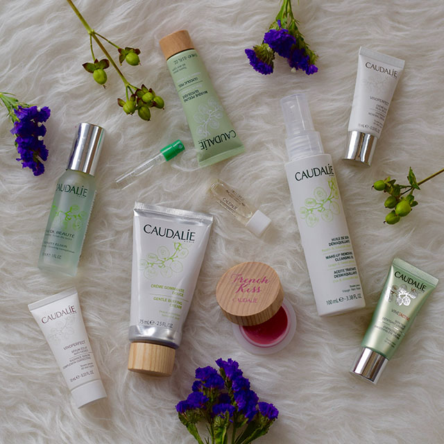 Caudalie Skincare-Beauty Blog-Beauty Elixir-Vine[Activ] Energizing and Smoothing Eye Cream-Make-Up Removing Cleansing Oil-Deep Cleansing Exfoliator-French Kiss Tinted Lip Balm
