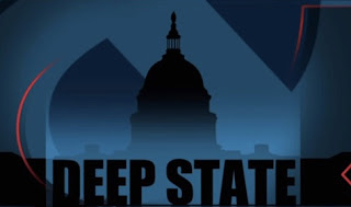 Picture of Capitol Building with 'Deep State' text overlayed image.