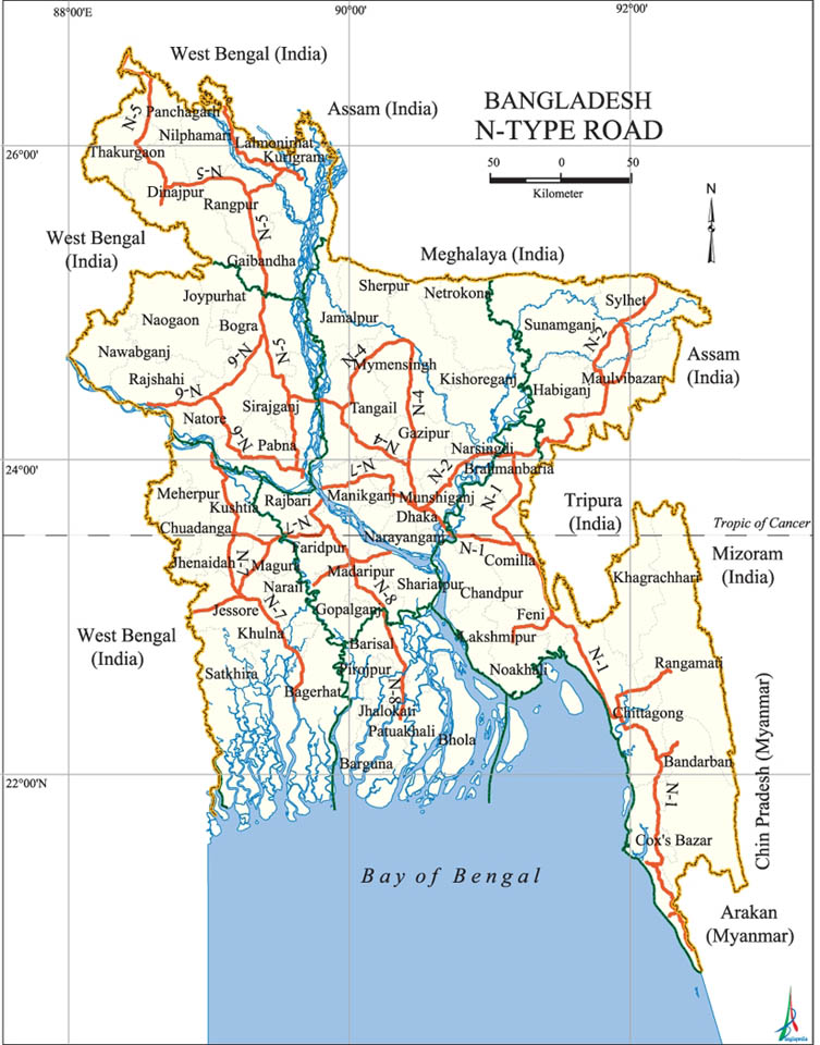 N-Type Road Map Bangladesh