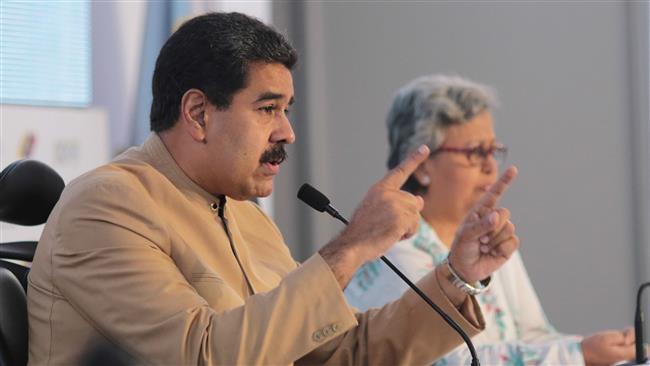 Imperial US sanctions won't intimidate Venezuelan President Nicolas Maduro