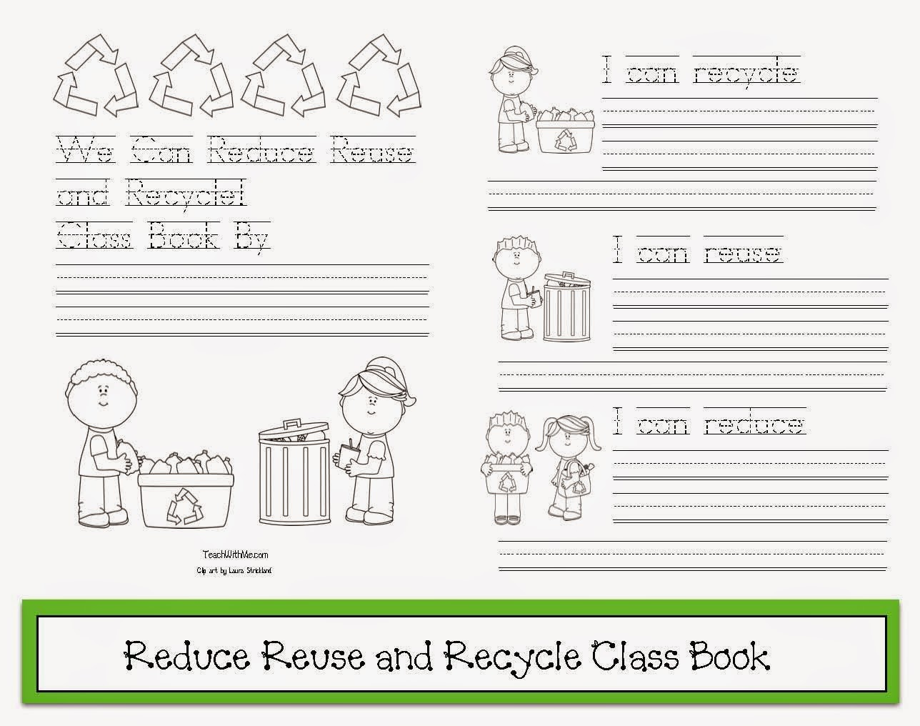 Reduce Reuse Recycle Worksheets For Preschool   Printable Worksheets and  Activities for Teachers [ 1016 x 1288 Pixel ]