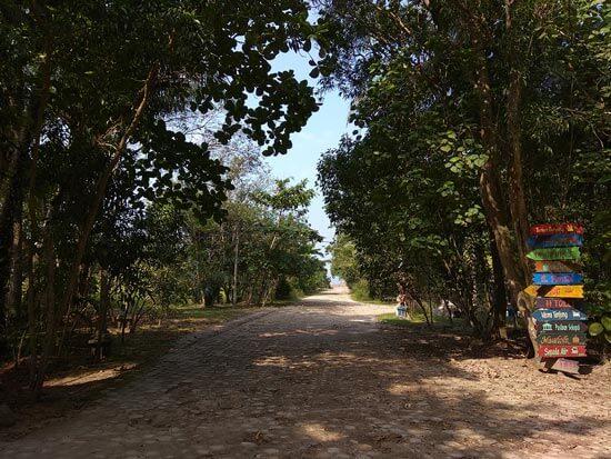 Lokasi Pantai Duta Wisata