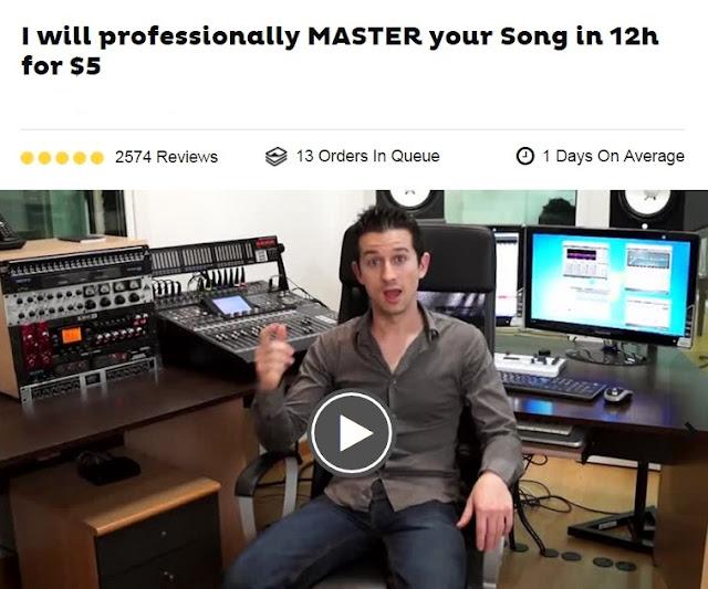 Professional Mastering Studio For Just $5