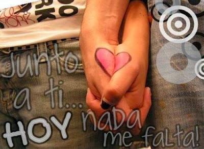 Imágenes con frases de Amor para dedicar