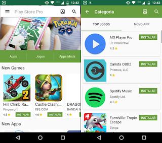 Perbedaan Aplikasi Playstore Gratis dan Pro