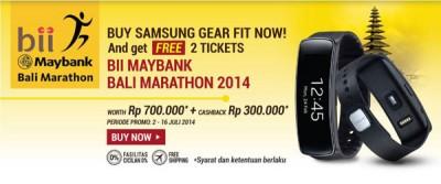 Beli Samsung Gear Fit, Raih 2 Tiket ke Bali