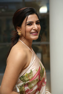 Samantha Akkineni Stills at Jaanu Movie Success Meet