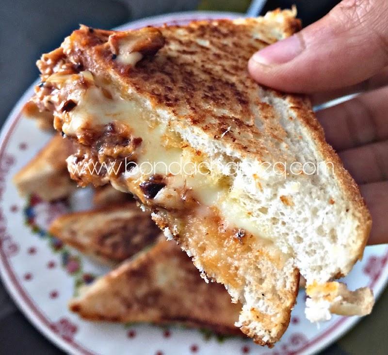 Sandwich Cheese Hidangan Istimewa Sarapan Pagi Bonda Chanteq