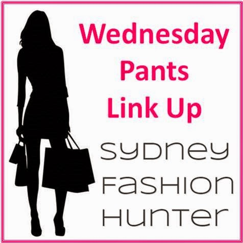 Sydney Fashion Hunter - The Wednesday Pants Link Up Button