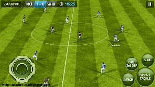 Download FIFA 14 v1.3.6 Mod Apk + Data Obb Full Unlocked