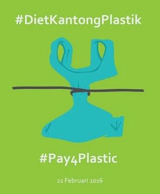 Jakarta Siap Diet Kantong Plastik, Ini Strategi Dinas LH