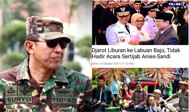 Tamparan Keras S Prabowo untuk Djarot: Tak Legawa Memang Tak Pantas untuk Jadi Pejabat Level Apapun