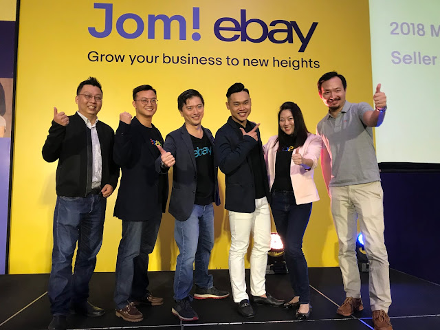 Jom! eBay event