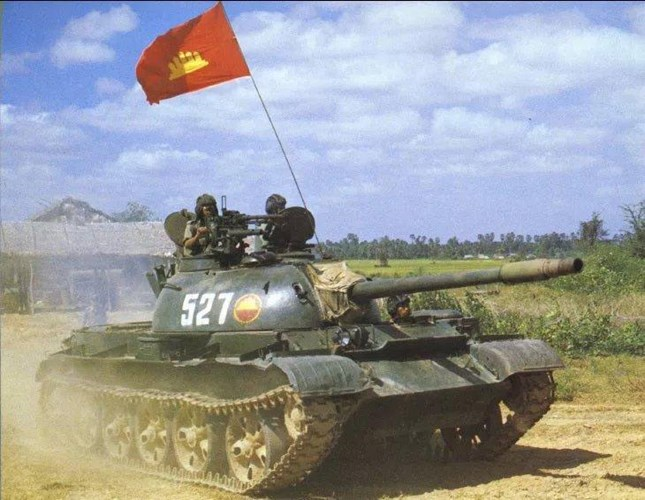 Defense Studies Type 62 Tank Of The Cambodian Army