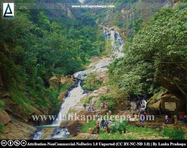Ravana Ella Falls in Sri Lanka