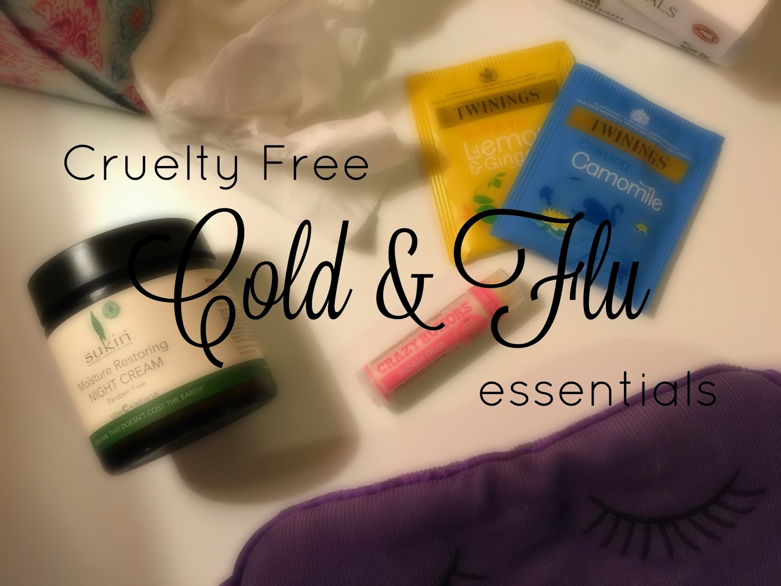 Cruelty Free Cold and Flu