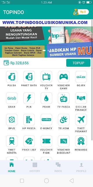 Aplikasi Topindo