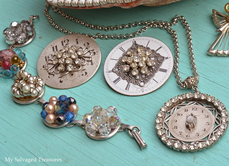repurposed jewelry vintage