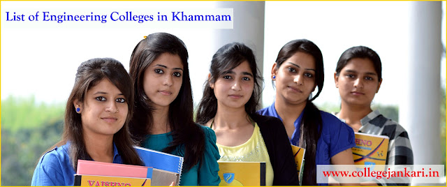 List of Engineering Colleges in Khammam