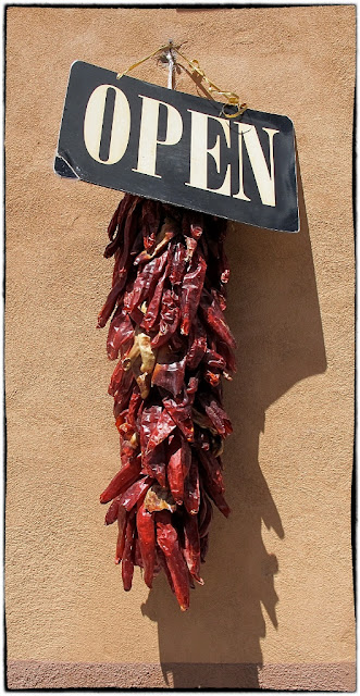 Dried chillis, New Mexico