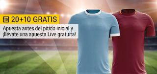 bwin promocion Lazio vs Roma 15 abril