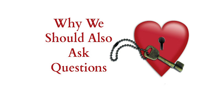 Why Jesus asked questions and why we should also ask questions. a 1-minute devotion. #BibleLoveNotes #Bible